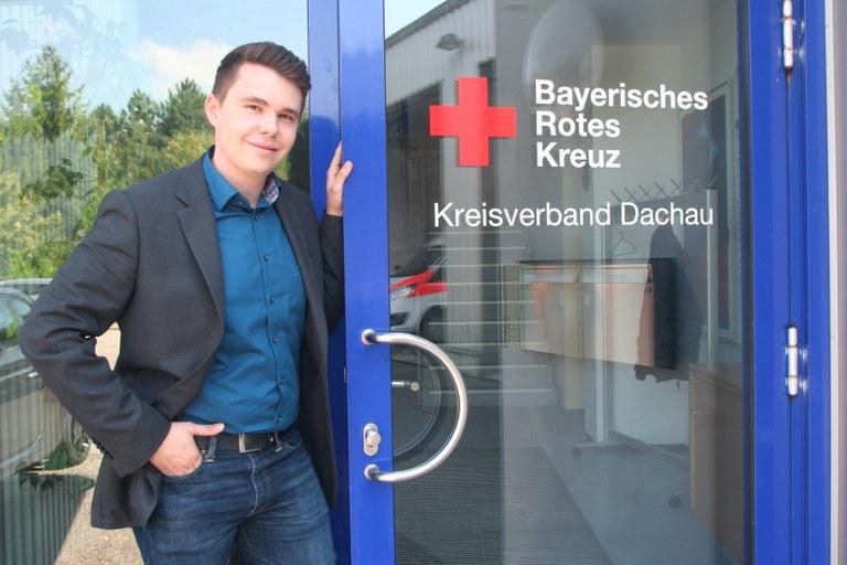 Leiter Rettungsdienst Dennis Behrendt